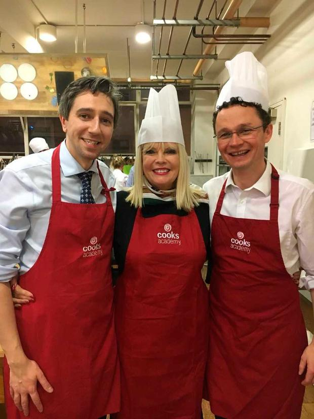 Health Minister Simon Harris' team came out on top at the cooking contest