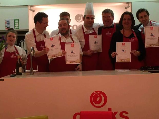 FG ministers, TDs and senators show off their cooking certificates