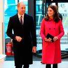 Prince William, Duke of Cambridge and Catherine, Duchess of Cambridge visit Coventry University, Science and Health Building on January 16, 2018 in Coventry, England. (Photo by Eamonn M. McCormack-WPA Pool/Getty Images)