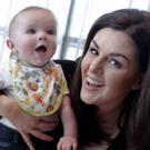 Sile Seoige with her son Cathal.