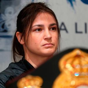 Katie Taylor. Photo: PA