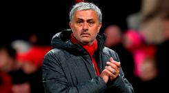 Jose Mourinho looks to be in it for the long haul at Old Trafford. Photo: Michael Regan/Getty Images