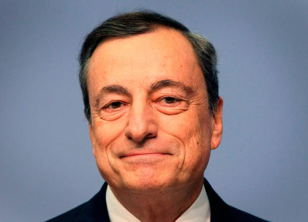 President of the European Central Bank Mario Draghi Picture: Getty Images