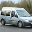 James Foley with his Ford Transit Connect
