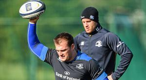 Rhys Ruddock and Luke Fitzgerald soldiered together with Leinster and Ireland