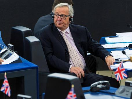 Jean-Claude Juncker in the European Parliament (FILE) AFP/Getty Images