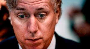 FAI Chief Exective John Delaney pictured at a press event in the Aviva stadium. Picture; Gerry Mooney