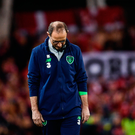 14 November 2017; Republic of Ireland manager Martin O'Neill during the FIFA 2018 World Cup Qualifier Play-off 2nd leg match between Republic of Ireland and Denmark at Aviva Stadium in Dublin. Photo by Ramsey Cardy/Sportsfile