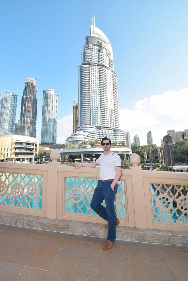 Wexford man Shane McGinley is currently living in Dubai