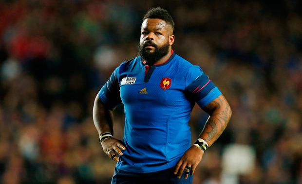 Bastareaud: Three-game ban. Photo: Reuters