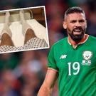 Jon Walters shared a piclture on social media that shows him dressed for surgery
