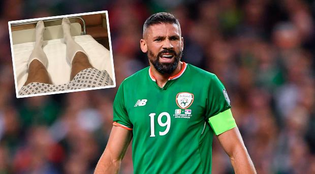 Jonathan Walters out for up to eight weeks following surgery