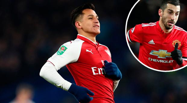 Arsenal's Alexis Sanchez to undergo Manchester United medical