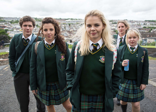 Derry Girls, Channel 4 (Nicola is on the far right)