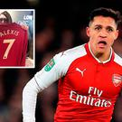 The first Alexis Sanchez Manchester United jerseys have been printed