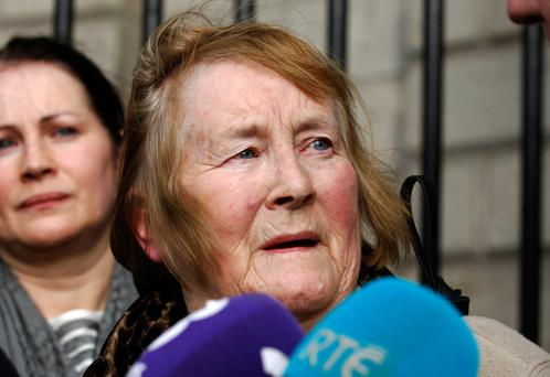 Esther Lonergan wanted apology earlier for the death of husband Eddie and son PJ