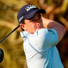 Paul Dunne or Ireland in Abu Dhabi