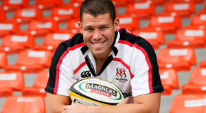 Carlo Del Fava after signing for Ulster in 2007