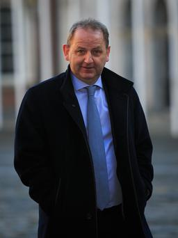 Maurice McCabe at the Disclosures Tribunal Photo Gareth Chaney Collins