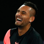 Nick Kyrgios shows his delight. Photo: Getty Images