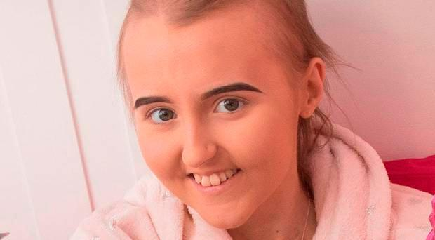 Alexandra Johnston (16) passed away on Thursday in the Royal Belfast Hospital for Sick Children surrounded by her family