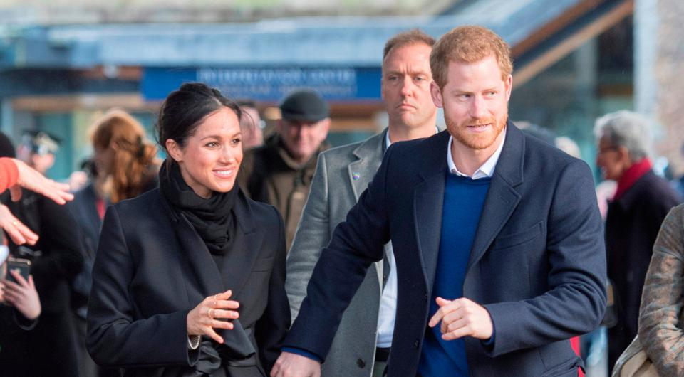 Britain's Prince Harry's and his fiancee Meghan Markle visit Cardiff Castle in Cardiff, Britain, January 18, 2018. REUTERS/Arthur Edwards/Pool