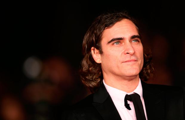Joaquin Phoenix attends 'Her' Premiere during The 8th Rome Film Festival at Auditorium Parco Della Musica on November 10, 2013 in Rome, Italy. (Photo by Vittorio Zunino Celotto/Getty Images)