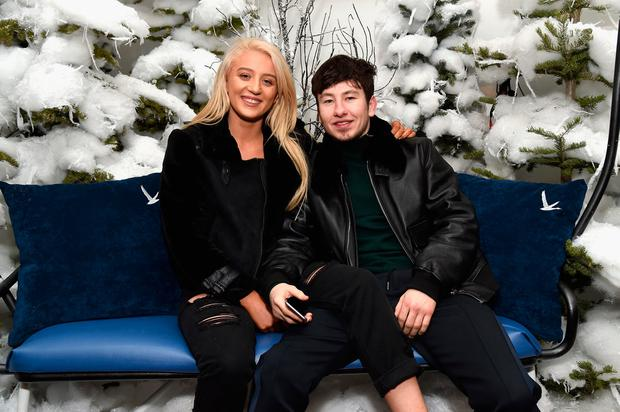 Shona Guerin and actor Barry Keoghan attend the