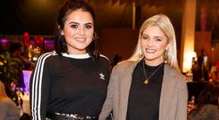 Aideen Murphy and Niamh Cullen at the launch of First Dates Restaurant at the gibson hotel
