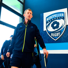 20 January 2018; Leinster head coach Leo Cullen arrives ahead of the European Rugby Champions Cup Pool 3 Round 6 match between Montpellier and Leinster at the Altrad Stadium in Montpellier, France. Photo by Ramsey Cardy/Sportsfile