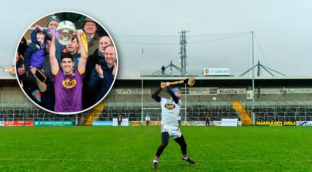 Mark Fanning hit the decisive free to win the game for Wexford