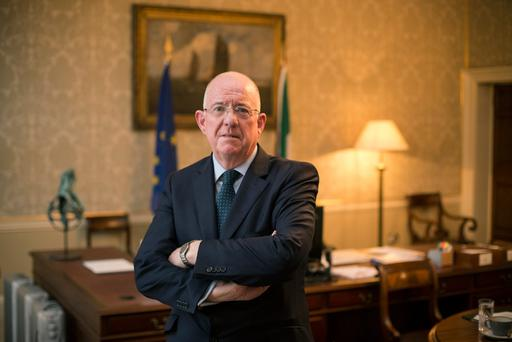 Justice Minister Charlie Flanagan. Photo: Mark Condren