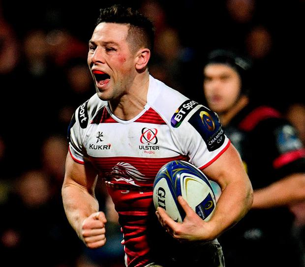 Ulster's John Cooney. Photo: Ramsey Cardy/Sportsfile