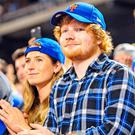 Wedding bells: Ed Sheeran with fiancee Cherry Seaborn