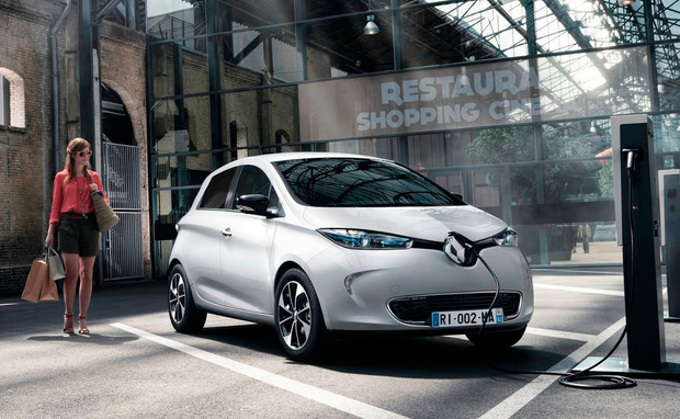 GRUDGING RESPECT: The easy-to-handle Renault Zoe