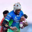 Niyi Adeolokun scored three tries for Connacht. Photo: Seb Daly/Sportsfile
