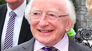 President Michael D Higgins. Photo: Steve Humphreys