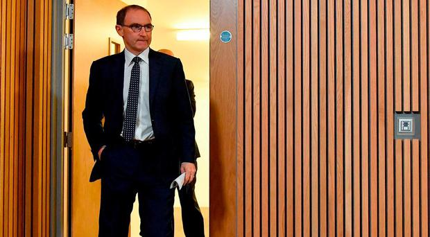 Martin O'Neill can decide on Wednesday whether to concentrate solely on the implications of the UEFA Nations League draw or also explain the events of the last few months. Photo: Brendan Moran/Sportsfile