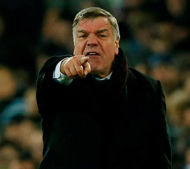Everton manager Sam Allardyce. Photo: Andrew Yates/Reuters