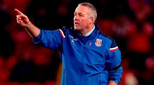 Stoke City manager Paul Lambert. Photo: Nigel French/PA Wire