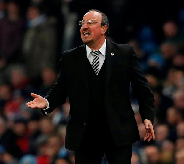Newcastle United manager Rafael Benitez. Photo: Lee Smith/Action Images via Reuters