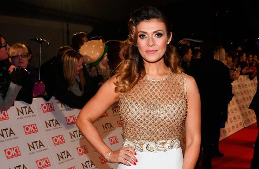 Kym Marsh attends the National Television Awards on January 25, 2017 in London, United Kingdom. (Photo by David M. Benett/Dave Benett/Getty Images )