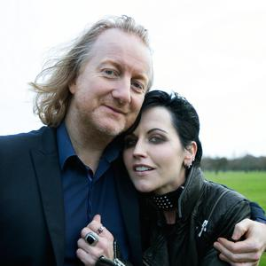 Barry Egan and his eternal friend, singer, songwriter and music legend Dolores O'Riordan. Photo: David Conachy