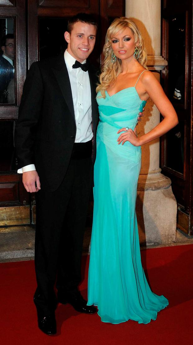 Rosanna Davison and Wesley Quirke in 2008