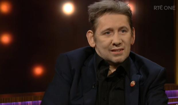 Shane MacGowan on The Ray D'Arcy Show