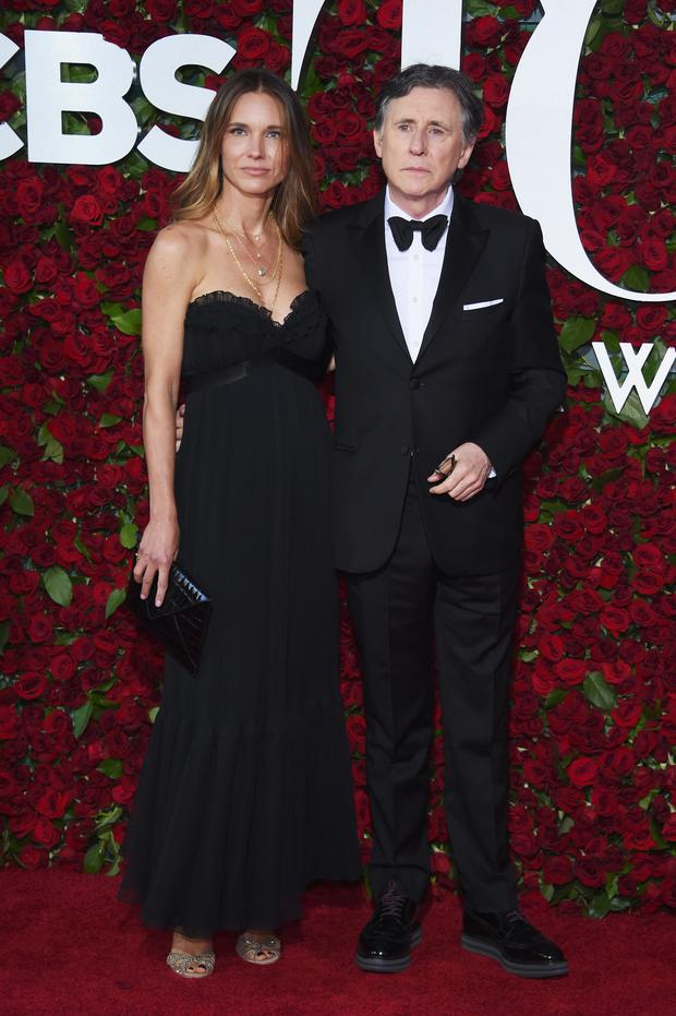 Producer Hannah Beth King actor Gabriel Byrne attend the 70th Annual Tony Awards at The Beacon Theatre on June 12, 2016 in New York City. (Photo by Dimitrios Kambouris/Getty Images for Tony Awards Productions)