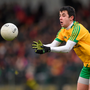 Willie Gillespie's frees kept the scoreboard ticking for the Donegal side. Picture credit: Stephen McCarthy / Sportsfile