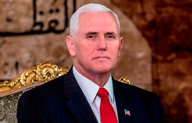 US Vice President Mike Pence. Photo: AFP/Getty Images