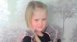 Eight-year-old Mylee Billingham. Photo: Family Handout/PA