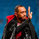 A dejected Christian Leali'ifano waves goodbye after playing his last game for Ulster against Wasps in the Champions Cup yesterday Photo: Sportsfile